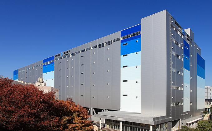 平和島物流センター | 3PLを極める NTTロジスコ